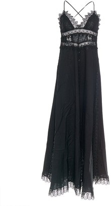 Charo Ruiz Ibiza Imagen Open Criss Cross Back Maxi Dress