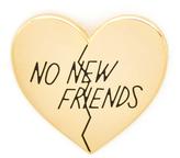 Pintrill No New Friends Pin