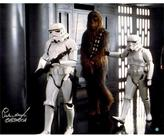 "Star Wars Peter Mayhew Signed ""Chewbacca"" Prisoner of Storm Troopers 16"" x 20"" Photo Poster"