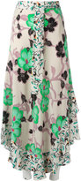 Etro floral print skirt - women - Silk - 42