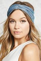 Forever 21 Metallic Twist-Front Headwrap