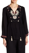 Angie Bell Sleeve Embroidered Tunic