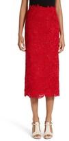 Valentino Women's Guipure Lace Midi Skirt