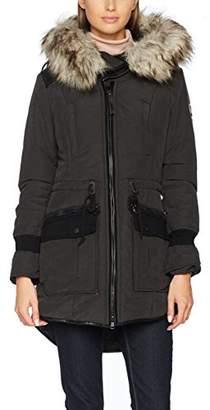 Khujo Women's Retro Bugs Jacket, (Black 200), M
