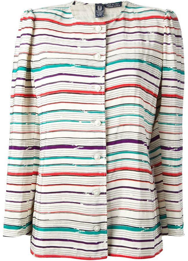 Ungaro Vintage striped jacket