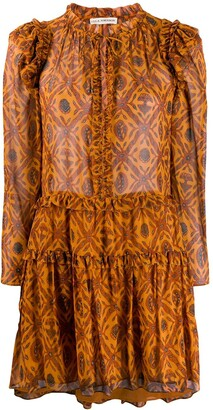 Ulla Johnson long-sleeve shift dress