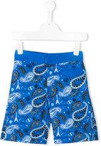John Galliano paisley print swim shorts