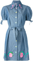 Olympia Le-Tan Masters Mistress shirt dress - women - Cotton - 34