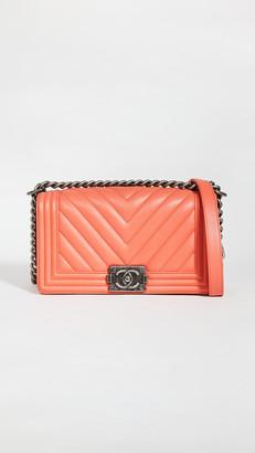 Shopbop Archive Medium Chanel Boy Chevron Shoulder Bag