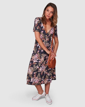 Billabong Easy Love Midi Dress