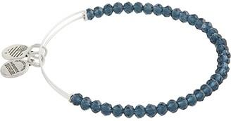 Alex and Ani Brilliance Bead Bangle Bracelet (Mauve) Bracelet