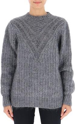 Alberta Ferretti Crewneck Knit Sweater