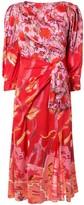 Peter Pilotto floral midi flared dress