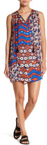 Collective Concepts Sleeveless Print Shift Dress
