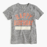 J.Crew Kids' happy birthday T-shirt