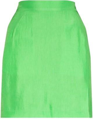 Samuel Guì Yang High-Waisted Mini Skirt