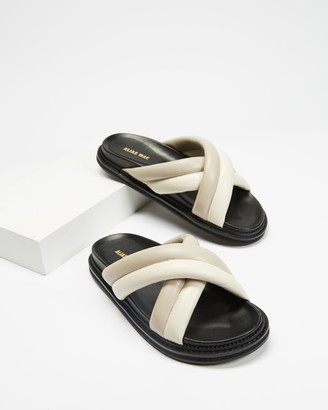 Mae Women's Grey Flat Sandals - Pamela - Size 36 at The Iconic