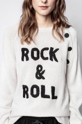 Zadig & Voltaire Reglis Cashmere Rock Sweater
