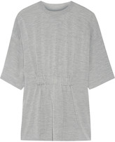 Maison Margiela Ruched wool and silk-blend sweater