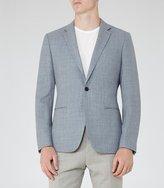 Reiss Elliot Hopsack Weave Blazer