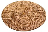"Kitchen Craft MasterClass Artesà Round Bamboo Rattan Serving Mat, 35 cm (14"")"