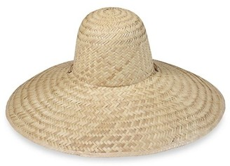 LACK OF COLOR Meadow Dome Woven Wide-Brim Hat