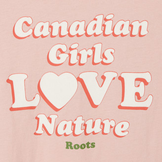 Roots Toddler Girls Love Nature T-shirt