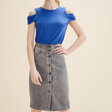 Maje Denim pencil skirt