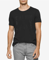 Calvin Klein Jeans Flocked-Logo T-Shirt
