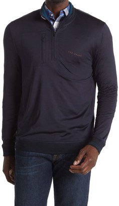 Ted Baker New Comp Half Zip Golf Top