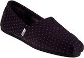 Toms Classic Slip-On Purple Dot Fabric