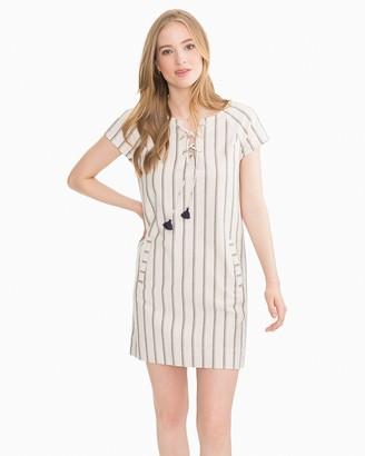 Southern Tide McKenna Lace-Up Striped Dress