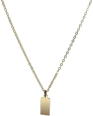 Clara Lifestyle Golden Tag Necklace