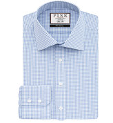 Thomas Pink Greenwood Check Slim Fit Button Cuff Shirt