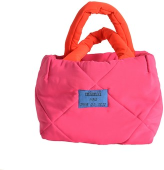 Mimii Inma Big Pink Labelled Bag