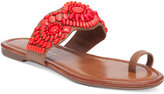 Jessica Simpson Razzel Toe-Ring Embellished Flat Sandals