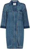 Replay Soft denim shirt dress