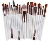 Makeup Brush Tools, Anself 20PCS Professional Eye Shadow Foundation Eyebrow Lip Brush Toiletry Kit