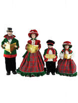 Asstd National Brand 15-18 Christmas Day Carolers- Set of 4