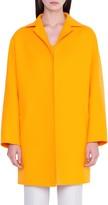 Akris Harlow Oversize Double Face Wool Coat