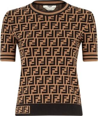 Fendi Fabric FF motif jumper