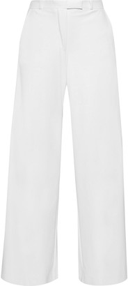 Each X Other Faux Leather Wide-leg Pants