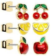 Body Candy Luscious Fruits Stud Earring Set