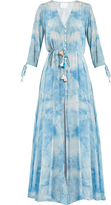 ATHENA PROCOPIOU In The Stars silk maxi dress