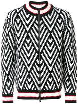 Ermanno Scervino zip front sweater