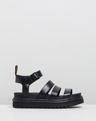 Dr. Martens Women's Black Strappy sandals - Womens Blaire Brando Sandals - Size 3 at The Iconic