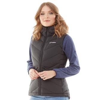 Berghaus Womens Easdale Hydrodown Insulated Vest Black/Black