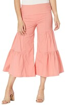 Thumbnail for your product : XCVI Cropped Side Tier Palazzo