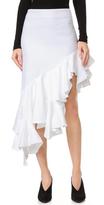 Jacquemus Asymmetrical Ruffle Skirt