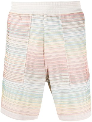 Missoni Embroidered Knee-Length Shorts